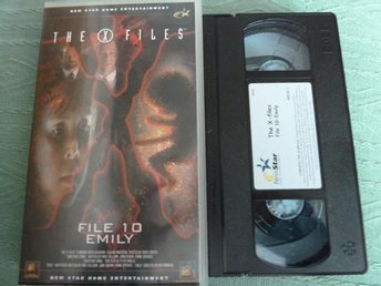 THE X FILES, FILE 10 EMILY,   VHS, FILM