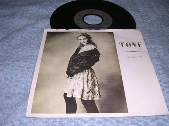 Tove Næss - I Can't Dance Alone (si) EX/VG++