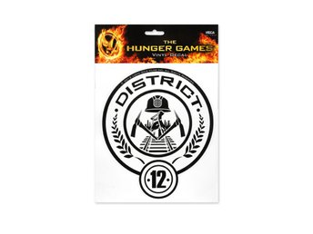 "Hunger Games Movie Laptop Decals ""District 12"""