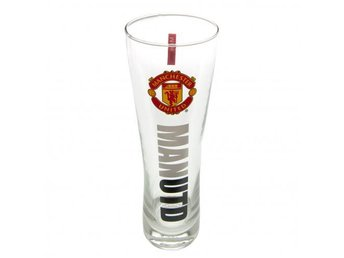 Manchester United Ölglas Högt Wordmark 1-pack