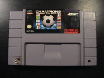 CHAMPIONS WORLD CLASS SOCCER / SUPER NINTENDO SNES / USA IMPORT