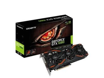 Gigabyte GeForce GTX 1080 OC 8GB GDDR5X WindForce FRAKTFRITT - Nossebro - Gigabyte GeForce GTX 1080 OC 8GB GDDR5X WindForce FRAKTFRITT - Nossebro