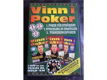 Vinn i Poker, 3-disk (Att bli proffs) - Visby - Vinn i Poker, 3-disk (Att bli proffs) - Visby