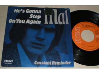 Mal 45/PS He´s gonna step on you again 1971 VG++