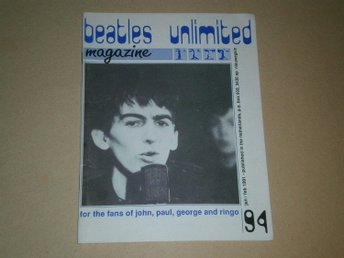 Beatles Unlimited #94 (Januari / Februari 1991) - Fint Skick!