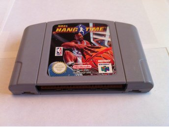 N64: NBA Hang Time (Enbart kassetten)