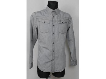 G-STAR RAW TAILORED SHIRT HEMD  SKJORTA LARGE