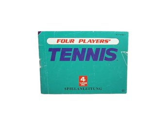 Four Players' Tennis (Manual Nes NOE)
