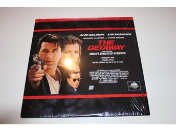 The Getaway Laser disc film i fint skick