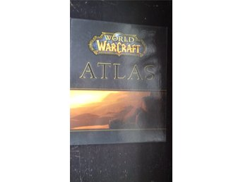 WORLD OF WARCRAFT - Stor ATLAS bok från 2005/2006 - 192 sidor - Made in U.S.A.