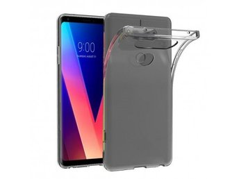 LG V30 Silikon skal Transparent Färg: Transparent