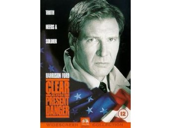 Påtaglig Fara (1994) - Harrison Ford, William Dafoe - Inplastad - DVD