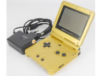 Game Boy Advance SP Console Zelda Limited Edition (Gold) -