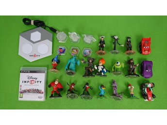 Disney Infinity Paket 18 figurer Playstation 3 PS3