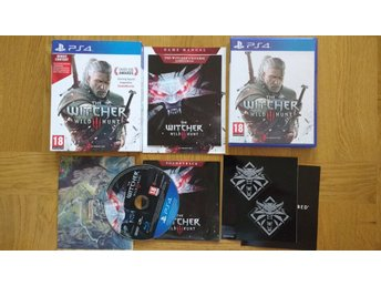 PlayStation 4/PS4: The Witcher 3 III Wild Hunt
