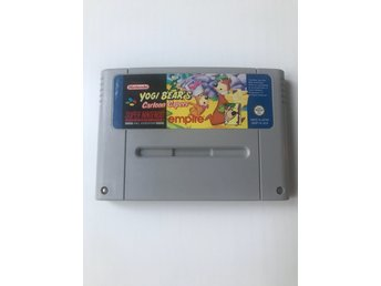 Yogi Bears Cartoon Capers Super Nintendo SNES SCN