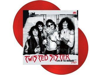 Twisted Sister -Marquee Club London 1983 dlp red Dee Snider