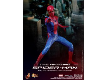 Hot Toys : The Amazing Spider-Man 1 figur MMS 179 (SOM NY!)