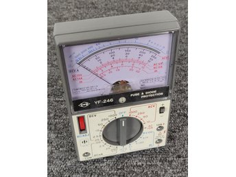 YFE YF-246 Multimeter Vintage - Made in Taiwan