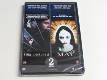 EDGE OF MADNESS / MAY (DVD) Ny inplastad