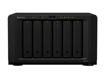 Synology DS1618+ DiskStation, 6-bay, Intel Atom quad-core 2,1 GHZ CPU, 4GB RAM