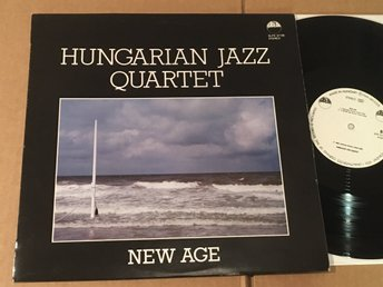HUNGARIAN JAZZ QUARTET new age LP Hungary KRÉM SLPX 37126
