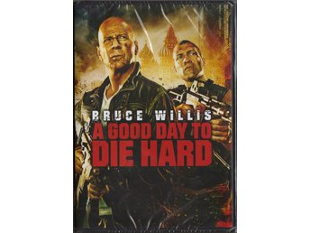 A GOOD DAY TO DIE HARD - DVD (INPLASTAD)