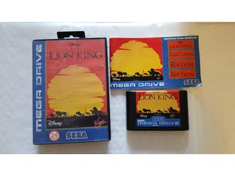 The Lion King Sega MegaDrive komplett begagnad