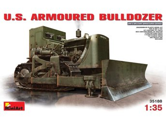 Miniart 1/35 US Armoured Bulldozer