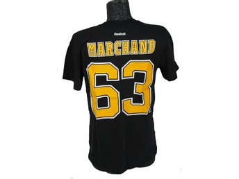 Boston Bruins NHL MARCHAND T-shirt strl. L från Reebok