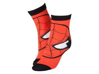 Spiderman Strumpor Head Röda 39-42