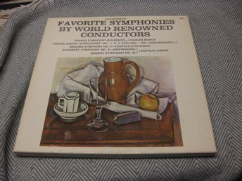Favorite Symphonies by World Renowned Conductors-BOX