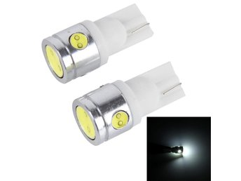 LED Diodlampa 2W 100LM 6000K Canbus - 2Pack