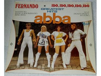 "ABBA- GREATEST HITS 12"" RECORD ON VOGUE LABEL"