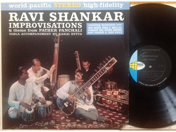 RAVI SHANKAR, LP. IMPROVISATIONS. US 1962.