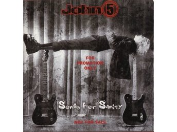 CD - John 5: Songs for Sanity (PROMO) (2005) (Beg)