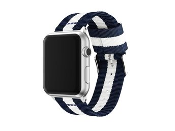 AppleWatchBand Blå-Vit-Röd38mm