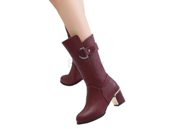 Dam Boots Girl Big size Fat Women 35-41 XWX6042 red 40