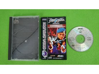Street Fighter The Movie NTSC-U KOMPLETT Sega Saturn