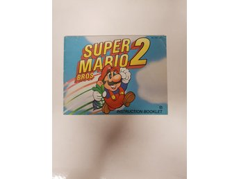 Super Mario Bros 2 - Manual NES NINTENDO - USA