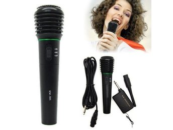 Karaoke Singing DJ Professional Handheld Trådlös Wirless Wired Microphone Mic
