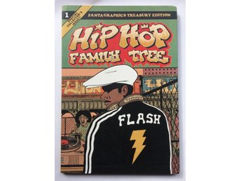 HIP HOP FAMILY TREE ED PISKOR (1970'S-1981) FANTAGRAPHICS 1ST ED 2013 VF !!!