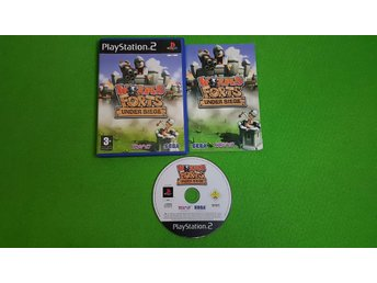 Worms Forts Under Siege PS2 Playstation 2