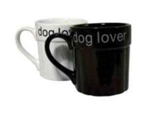 Dog Lover mugg - Svart