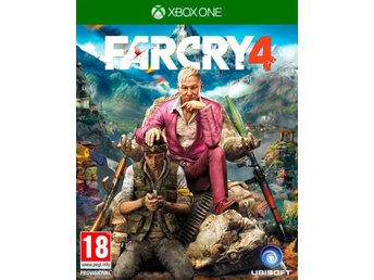 "Xbox One spel ""FarCry 4"""
