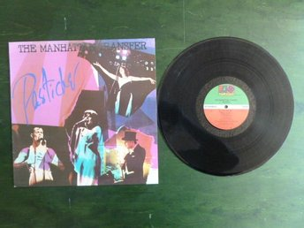 PASTICHE,  THE MANHATTAN TRANSFER,   LP, LP-SKIVA