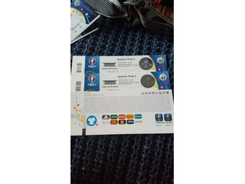 2 tickets to the quarter final in Bordeaux 2/7 2016 categorie 2 - Stockholm - 2 tickets to the quarter final in Bordeaux 2/7 2016 categorie 2 - Stockholm