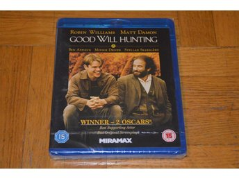 Good Will Hunting ( Robin Williams Matt Damon ) 1997 - Bluray Blu-Ray Inplastad - Töre - Good Will Hunting ( Robin Williams Matt Damon ) 1997 - Bluray Blu-Ray Inplastad - Töre