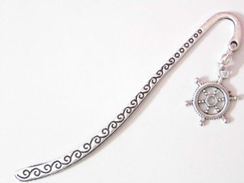 Skeppsratt bokmärke / Ship's wheel bookmark