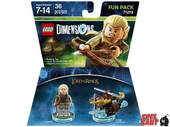 Lego Dimensions The Lord of the Rings Legolas Fun Pack 71219